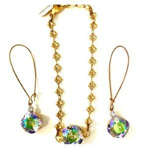 Carla Beau Bracelet and Earring Set
